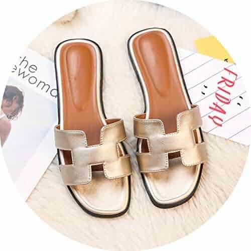 f859a7d7c7e For What Reason Luxury Brand 2019 New Summer Slippers Women Cut Out Beach  Sandals Women Slides