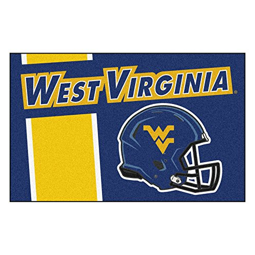 FANMATS 18790 West Virginia Uniform Inspired Starter Rug