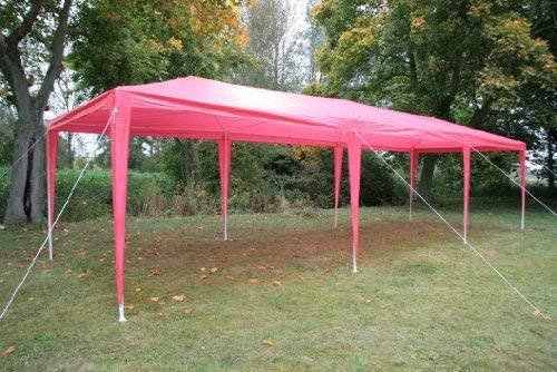 Esc Europe Ltd Airwave 3m x 9m Gazebo Party Tent Marquee Awning GREEN with Side Panels 120g WATERPROOF Canopy and Powder Coated Steel Frame.