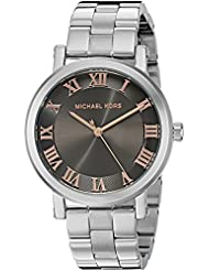 Michael Kors Womens Norie Silver-Tone Watch MK3559