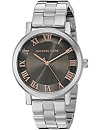 Michael Kors Women's Quartz Stainless Steel Automatic Watch, Color:Silver-Toned (Model: MK3559)