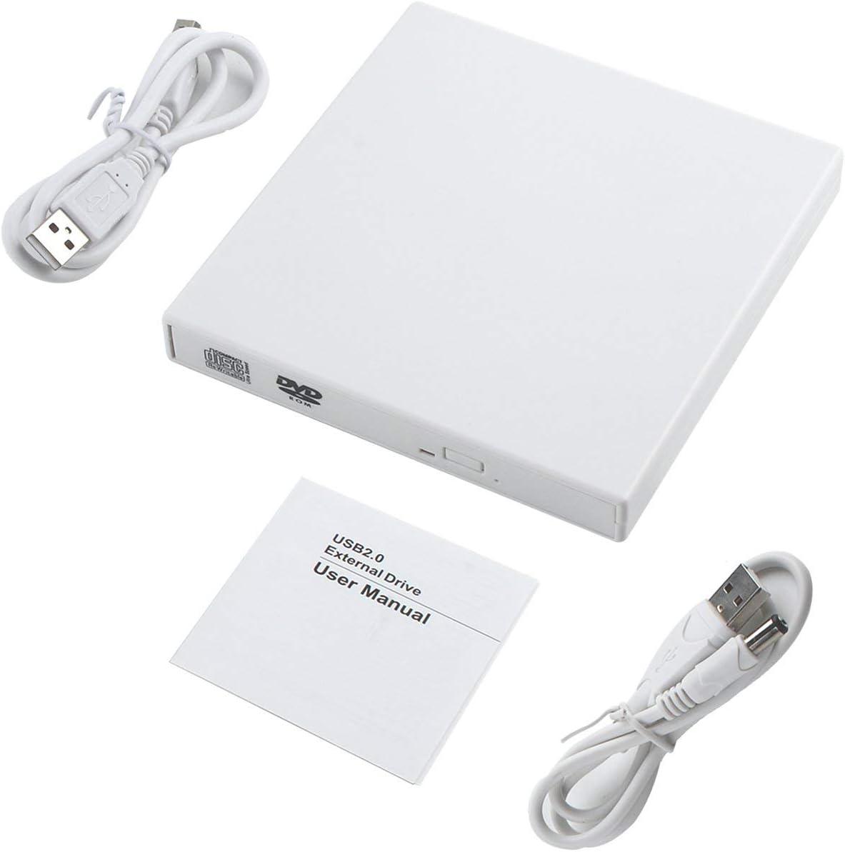 Ballylelly Universal USB Externes Combo Optisches Laufwerk CD/DVD ...