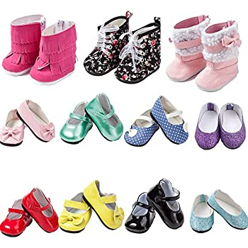 Yellow Slip On Satin Bow Shoes 6 in Doll Clothes Fits Mini American Girl