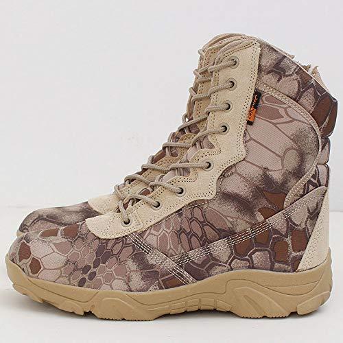HCBYJ Outdoor-Schuhe Schuhe Army Fan Special Forces Outdoor-Schuhe HCBYJ Camouflage-Kampfstiefel Männer und Frauen e10746