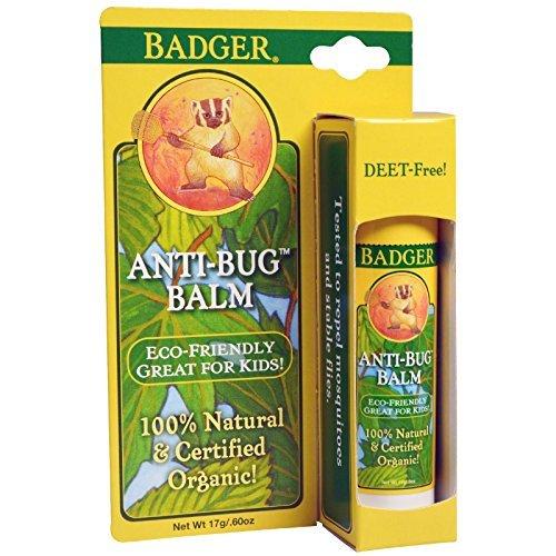 Badger Company, Anti-Bug Balm, 0.60 oz (17 g) - 2pc