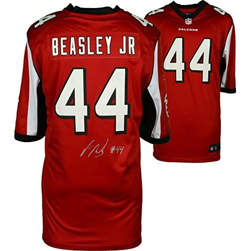 0dbda9b85dd free shipping Vic Beasley Atlanta Falcons Autographed Nike Red Game Jersey  - Fanatics Authentic Certified - Autographed NFL Jerseys