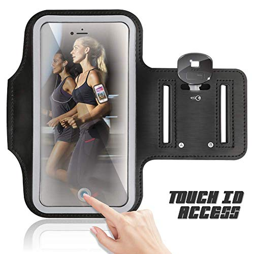 Sports Running Armband for MicroMax Canvas Juice A1 Q4251 5.0