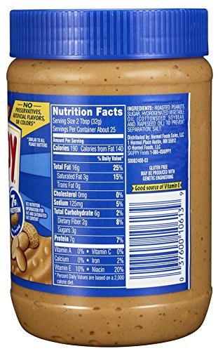 Review Skippy Peanut Butter, Chunky,