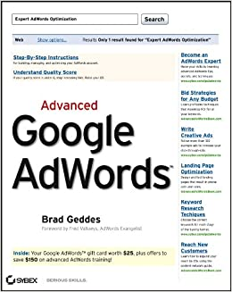 Advanced Google AdWords: Amazon.es: Geddes, Brad: Libros en ...