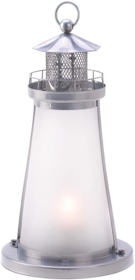 Beautiful LED Lighted Lighthouse with 6 Hour Timer Great Gift