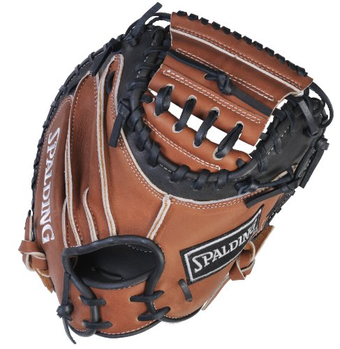 Spalding True to the Game Series One Piece Closed Web 33.5-inch Catcher's Mitt - Right-Handed Thrower (42-066) by Spalding