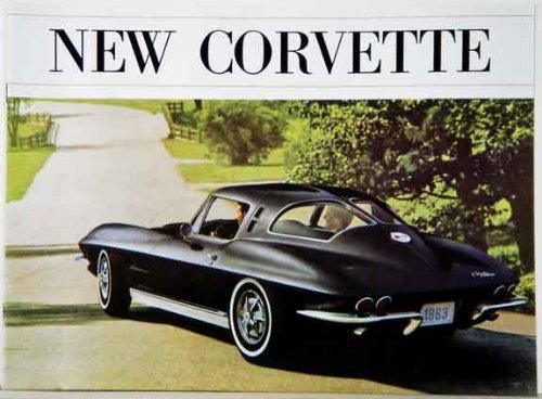 1963 CHEVY CORVETTE STINGRAY SALES BROCHURE