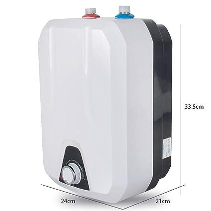 Calentador De Agua Caliente Instantáneo Eléctrico Portátil 55-75 Cocina De Baño Lavado 8L