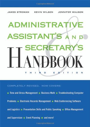 Administrative Assistant's and Secretary's Handbook -