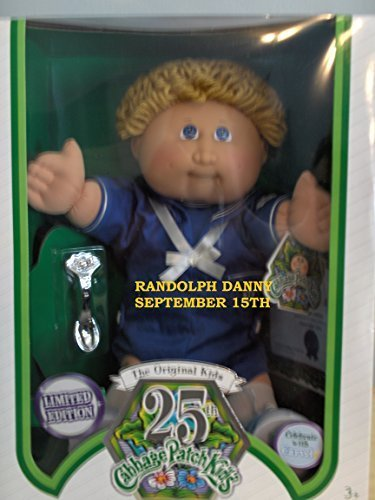 Cabbage Patch Kids Anniversary - Cabbage Patch Kids 25th Anniversary Blond Sailor Boy
