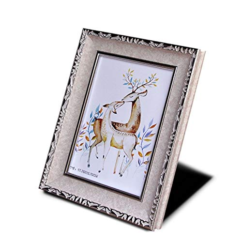 VU ANH TUAN Store Vintage Picture Frames Classic Photo Frame Painting Frame Cretive Home Art Decor Gifts Vintage Desktop Photo Frame for Pictures 6