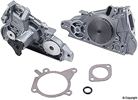 ANPART Timing Belt Kit Fit For 1999-2001 Mazda Protege Timing Belt Water Pump Tensioner Gasket Set