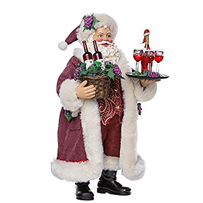 "Kurt Adler C7469 11.5"" Fabriche Santa"