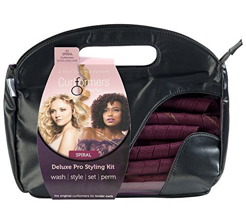 Curlformers Deluxe Range Styling Kit Spiral Curls for Extra Long Hair Hair Flair Ltd