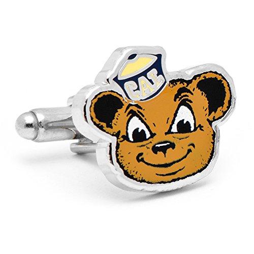 Vintage University of California Bears Cufflinks Novelty 1 x 1in