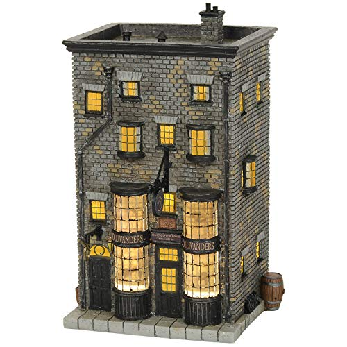 Department 56 Halloween Village 2019 (Department56 Harry Potter Village Ollivanders Wand Shop Lit Building, 7.88
