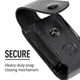 LEATHERMAN - Premium Leather Sheath with Pockets