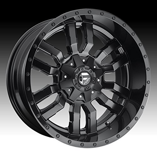 Fuel D596 Sledge 17×9 5×114.3/5×127 -12mm Matte/Gloss Black Wheel Rim