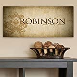 A Gift Personalized Personalized Canvas Sign Wall Decor Faith, Family, Friends Perfect Gift for Wedding