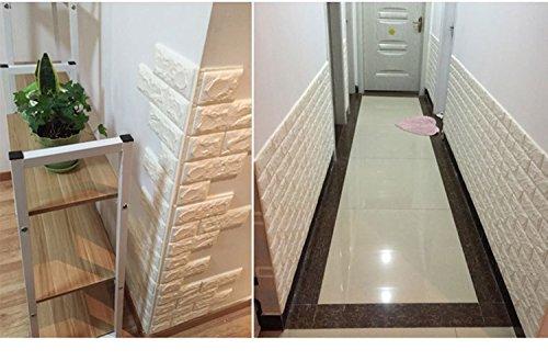wandpaneele steinoptik 3d nhsunray ziegelstein tapete selbstklebend fa 1 4 r schlafzimmer wohnzimmer moderne tv dekor steinopt