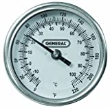 General Tools T300-36 Soil Thermometer Dial with 36 Inch Probe
