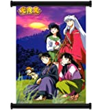 """Inuyasha Anime Fabric Wall Scroll Poster (32"""" x 46"""") Inches"""