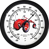 "New 14"" Massive Allis Chalmers Model G Tractor Wall Thermometer 14 Inches Round"