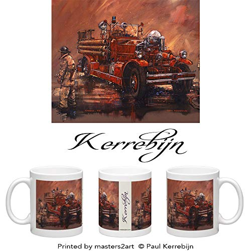 (Ahrens Fox Fire Engine Mug)