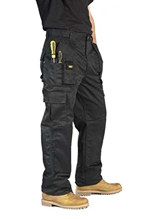 Mig Mud Ice Gravel Mens Cargo Work Trousers Size 30 To 42 By Mig