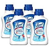 Lysol Laundry Sanitizer Additive, Crisp Linen, 164oz (4X41oz)