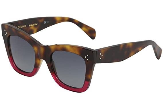 6b8abc2aa2 Celine CL41090 S 23A Havana Fuchsia CL41090 S Square Sunglasses Lens ...