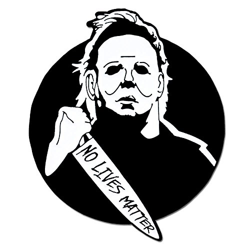 The Facts Of Life Halloween (PinMart Michael Myers No Lives Matter Halloween Enamel Lapel)