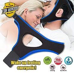Anti Snoring Chin Strap Ajustable Stop S...