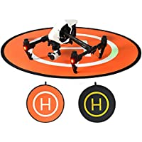 gouduoduo2018 43.3 Inches PGY RC Drone Launch Pad Quadcopter Helicopter Landing Pad Helipad Dronepad DJI Phantom 4 Phantom 3 2 Inspire 1 Protective Accessories