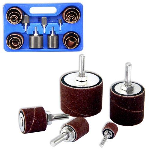 Neiko 10342 26-Piece Drum Sander Kit - Drill Press Drum Sander