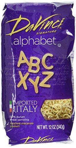 pasta alphabet - 8