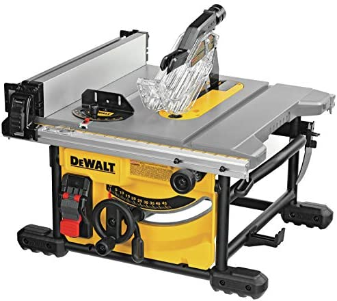 DEWALT DWE7485 8-1 4 in. Compact Jobsite Table Saw