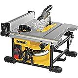DEWALT Table Saw for Jobsite, Compact, 8-1/4-Inch (DWE7485)