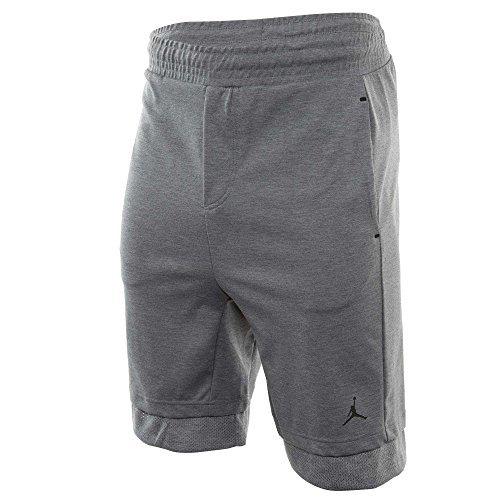 Jordan Air 23 Lux Men's Casual Sportswear Shorts Grey/Black 846285-091 (Size M)