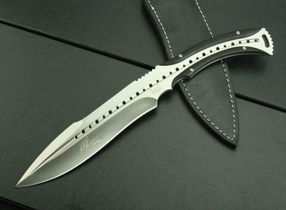 FARDEER KNIFE アウトドア戦術ハンティングマーメイドナイフ B07K7J9MKD