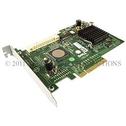 Dell GU186 SAS 5/ir Raid Controller PCI-E Precision 390 Poweredge 840 860 SC1430 SC1435