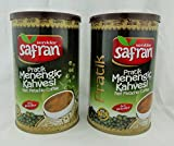 Safran Traditional Coffee Series (Turkish) (Menengic (Pistachio) Coffee Ground 8.8 Oz can, Pack of 2)