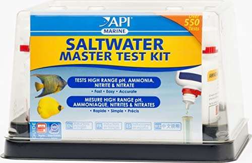 API agua salada arrecife marino Master completo Kit de prueba de ...