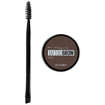 4fe6b5f5146 Maybelline Tattoo Brow Pomade Pot, Dark Brown: Amazon.co.uk: Beauty