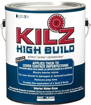KILZ High Build Surface Healing Primer Interior Water Based Primer/Sealer,  White,